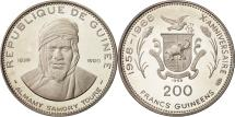 World Coins - Coin, Guinea, 200 Francs, 1969, MS(63), Silver, KM:11