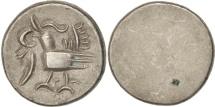 Cambodia, 1/8 Tical, 1 Fuang, EF(40-45), Billon, KM:32.2