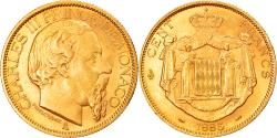 World Coins - Coin, Monaco, Charles III, 100 Francs, Cent, 1886, Paris, , Gold, KM:99