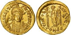 Ancient Coins - Coin, Anastasius I, Solidus, 492-507, Constantinople, , Gold, Sear:3