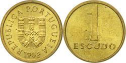 World Coins - Coin, Portugal, Escudo, 1982, , Nickel-brass, KM:614