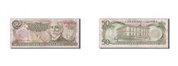 World Coins - Costa Rica, 50 Colones, 1993, 1993-07-07, KM:257a, VF(20-25)