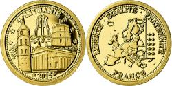 World Coins - Lithuania, Medal, Les Pays dans l'Euro, Politics, Society, War, 2015,