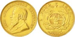 World Coins - Coin, South Africa, Pond, Een, 1898, AU(50-53), Gold, KM:10.2