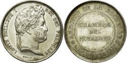 World Coins - France, Token, Louis-Philippe Ier, Notaires de l'Arrondissement de La Rochelle