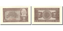 World Coins - Banknote, Poland, 2 Zlote, 1941, 1941, KM:100, UNC(64)