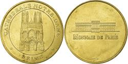 World Coins - France, Token, Touristic token, Reims - Cathédrale Notre Dame, Arts & Culture