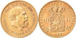 World Coins - Coin, Netherlands, William III, 10 Gulden, 1875, , Gold, KM:105