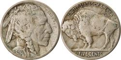 Us Coins - Coin, United States, Buffalo Nickel, 5 Cents, 1913, U.S. Mint, Denver