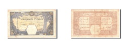 World Coins - French West Africa, 50 Francs, 1929, KM:9Bc, 1929-03-14, VF(20-25)