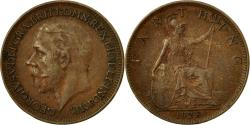 World Coins - Coin, Great Britain, George V, Farthing, 1928, , Bronze, KM:825