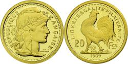 World Coins - France, Medal, Réplique 20 Francs 1909, , Gold