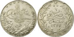 World Coins - Coin, Egypt, Muhammad V, 10 Qirsh, 1913/AH1327, , Silver, KM:309