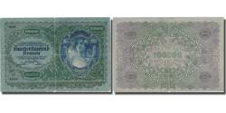 World Coins - Banknote, Austria, 100,000 Kronen, 1922, 1922-01-02, KM:81, VF(20-25)