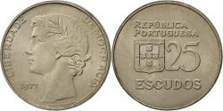 World Coins - Coin, Portugal, 25 Escudos, 1977, , Copper-nickel, KM:607