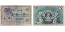 World Coins - Banknote, Germany, 100 Mark, 1905, 1905-12-18, KM:24a, VF(20-25)