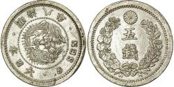 World Coins - Coin, Japan, Mutsuhito, 5 Sen, 1895, , Silver, KM:22