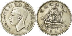 World Coins - Coin, Canada, George VI, Dollar, 1949, Royal Canadian Mint, Ottawa,