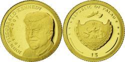 Ancient Coins - Palau, Dollar, JF Kennedy, 2007, , Gold