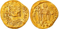 Ancient Coins - Coin, Maurice Tiberius, Solidus, 582-602, Constantinople, , Gold