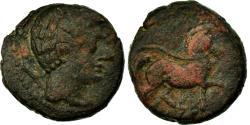 Ancient Coins - Coin, Spain, As, Celsa, VF(20-25), Bronze