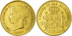 World Coins - Coin, Philippines, 4 Pesos, 1864, , Gold, KM:144