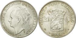 World Coins - Coin, Curacao, Wilhelmina I, 2-1/2 Gulden, 1944, Denver, USA, , Silver