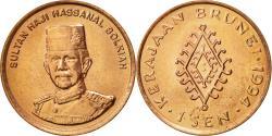 World Coins - BRUNEI, Sultan Hassanal Bolkiah, Sen, 1994, , Copper Clad  Steel, KM:34