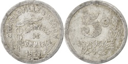 World Coins - France, 5 Centimes, 1921, , Aluminium, Elie #10.1, 0.91