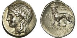 Ancient Coins - Coin, Ionia, Miletos, Drachm, Miletos, AU(50-53), Silver