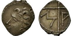 Ancient Coins - Coin, Massalia, Obol, Marseille, AU(50-53), Silver, SNG Cop:723-8