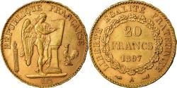 Coin, France, Génie, 20 Francs, 1897, Paris, , Gold, KM:825