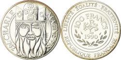 World Coins - Coin, France, Charlemagne, 100 Francs, 1990, , Silver, KM:982