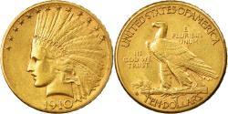 Us Coins - Coin, United States, Indian Head, $10, Eagle, 1910, U.S. Mint, Denver