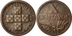 World Coins - Coin, Portugal, 20 Centavos, 1953, , Bronze, KM:584