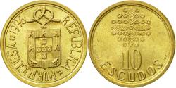 World Coins - Coin, Portugal, 10 Escudos, 1996, , Nickel-brass, KM:633