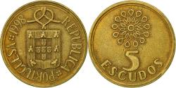 World Coins - Portugal, 5 Escudos, 1998, , Nickel-brass, KM:632