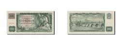 World Coins - Czech Republic, 100 Korun, 1993, KM #1a, AU(50-53), 507708