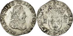 World Coins - Coin, France, Henri III, Teston, 1576, Poitiers, , Silver, Sombart:4654