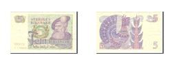 World Coins - Sweden, 5 Kronor, 1978, Undated, KM:51d, EF(40-45)