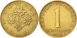 World Coins - Austria, Schilling, 1975, , Aluminum-Bronze, KM:2886
