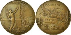 World Coins - France, Medal, Art Nouveau, Journal Le Matin, Riberon, , Bronze