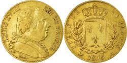 World Coins - Coin, France, Louis XVIII, Louis XVIII, 20 Francs, 1815, Paris, , Gold