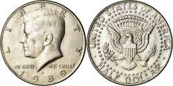 Us Coins - Coin, United States, Kennedy Half Dollar, Half Dollar, 1989, U.S. Mint