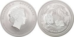 World Coins - Australia, 2 Dollars, 2011, Perth, KM #1476, , Silver, 62.86