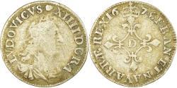 Ancient Coins - Coin, France, Louis XIV, 4 Sols dits «des Traitants», 4 Sols, 1675, Lyon
