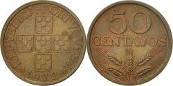 World Coins - Coin, Portugal, 50 Centavos, 1972, , Bronze, KM:596