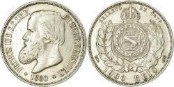 World Coins - Coin, Brazil, Pedro II, 1000 Reis, 1880, , Silver, KM:481