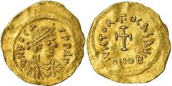 Ancient Coins - Coin, Phocas, Tremissis, Constantinople, , Gold, Sear:633