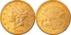 Us Coins - Coin, United States, $20, Double Eagle, 1881, San Francisco, , Gold